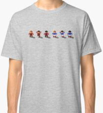 Bournemouth vs Portsmouth 2016/17 - Sensible World Of Soccer Sprites Classic T-Shirt