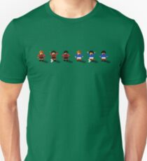 Bournemouth vs Portsmouth 2016/17 - Sensible World Of Soccer Sprites T-Shirt