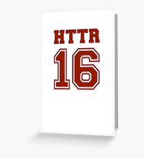 #HTTR - Hail To The Redskins Greeting Card