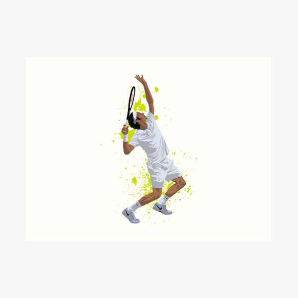 Roger Federer Lámina artística