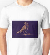 Drawing of hummingbird. Illustration T-Shirt