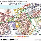 Multiple Deprivation Fairfield ward, Wandsworth by ianturton