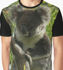 Koala autumn colours Graphic T-Shirt