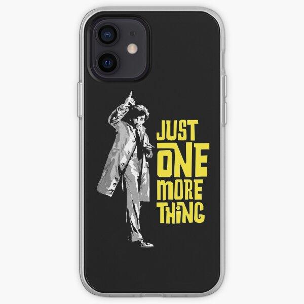 Columbo - Juste une chose de plus Coque souple iPhone