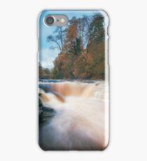 Autumn water falls iPhone Case/Skin