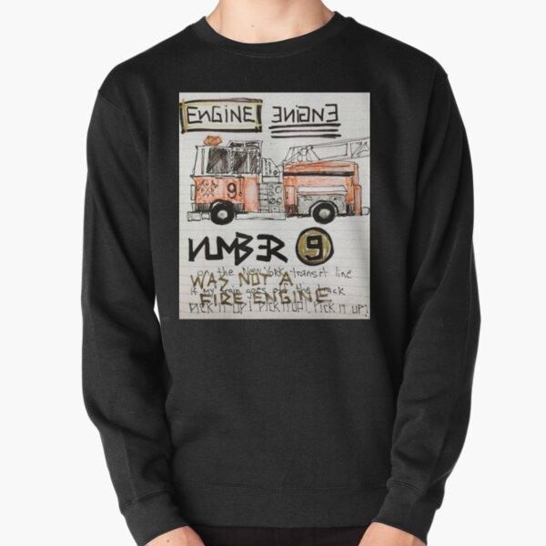 Number 9 Pullover Sweatshirt