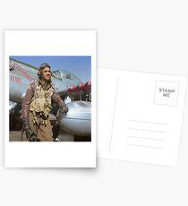 Edward C. Gleed Tuskegee airman — Colorized Postcards