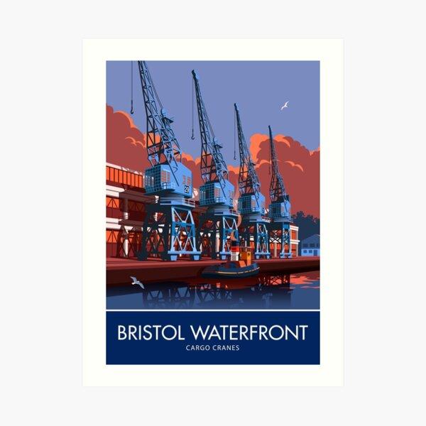 Bristol Waterfront Kunstdruck
