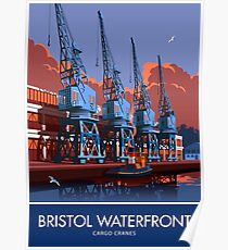 Bristol Waterfront Poster