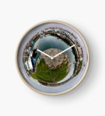 Hurry Head Harbour, Carnlough, County Antrim - Sky out Clock