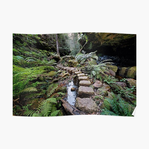Grand Canyon Stepping Stones Poster
