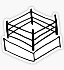 Wrestling RIng Sticker