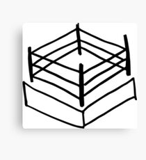 Wrestling RIng Canvas Print
