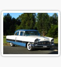 Packard #12 - 1956 Patrician White & Blue Sticker