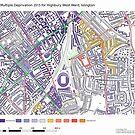 Multiple Deprivation Highbury West ward, Islington by ianturton