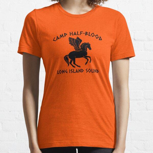 camp demi-sang longue île T-shirt essentiel