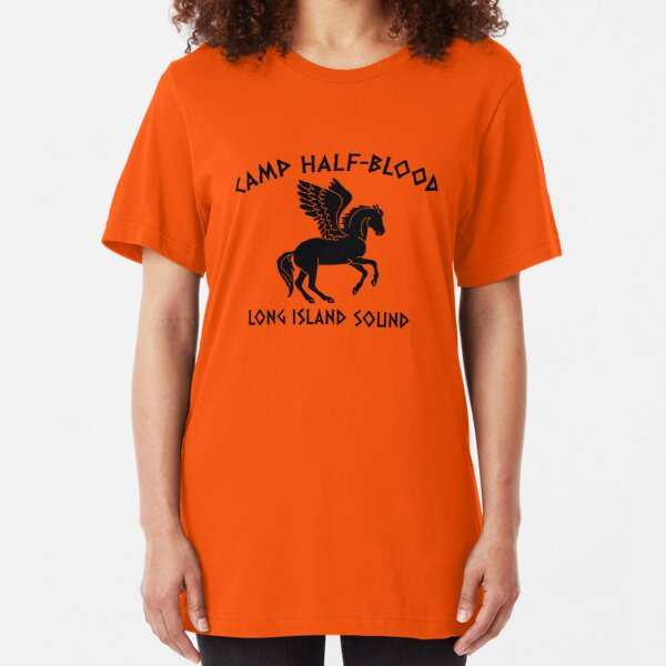 camp half blood long island Slim Fit T-Shirt