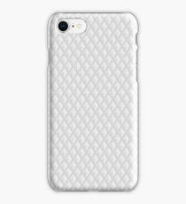 Neutral Grey Background in Rhombs iPhone Case/Skin