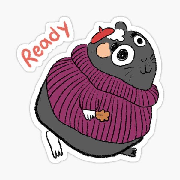 Willow in Sweater Sticker