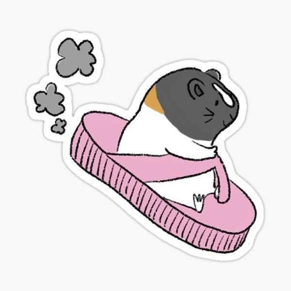Rosie Driving Flip Flop Sticker