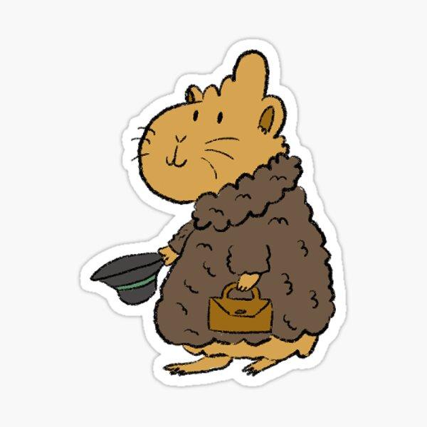 Apollo Teddy Coat Sticker