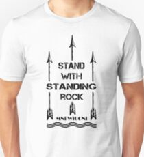 i stand with standing rock - water is life Unisex T-Shirt