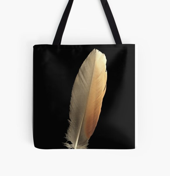 A Feather for Good Luck All Over Print Tote Bag