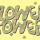 Floral Riot - Green Wash by Geckojoy