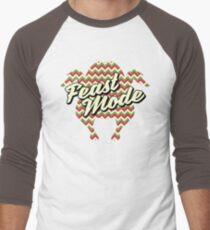 Feast Mode Men's Baseball ¾ T-Shirt