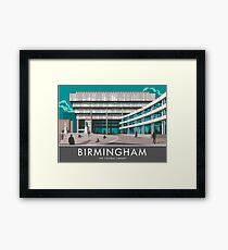 Birmingham Central Library Framed Print