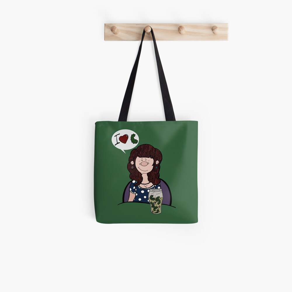 Self-portrait with pickles Tote Bag