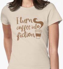 I turn coffee into FICTION T-Shirt