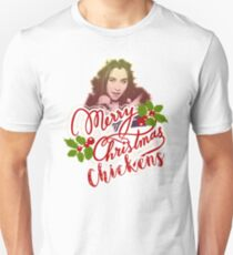 LAUREN JAUREGUI - MERRY CHRISTMAS CHICKEN Unisex T-Shirt