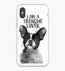 FRENCHIE LOVER iPhone Case