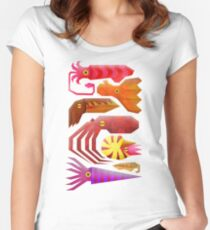 Cephalopods Women's Fitted Scoop T-Shirt
