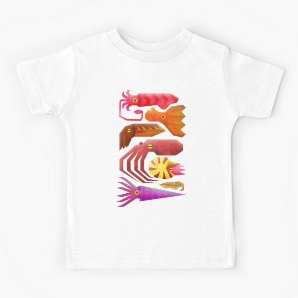 Cephalopods Camiseta para niños