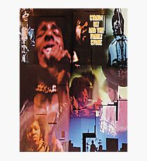 Sly and the Family Stone Photographic Print