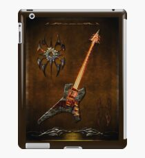 Black Metal iPad Case/Skin