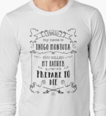 My Name is Inigo Montoya T-Shirt