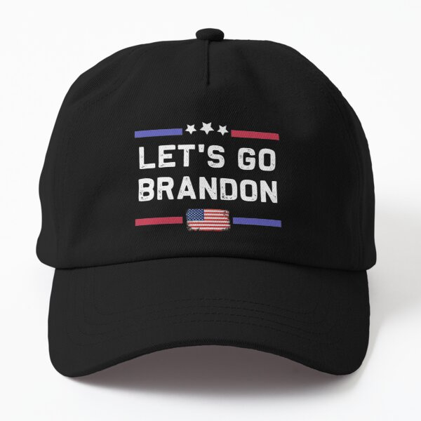 Let's Go Brandon Conservative Anti Liberal US Flag Dad Hat