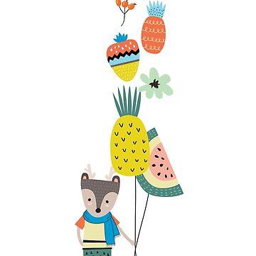 Fruit Balloons by Elbas