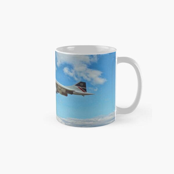 Concorde On Finals Classic Mug