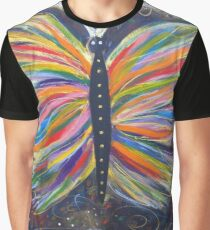 Butterfly of Joy Graphic T-Shirt