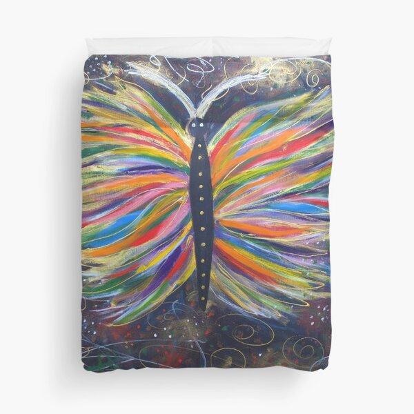 Butterfly of Joy Duvet Cover