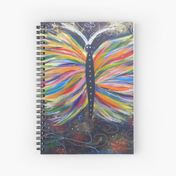Butterfly of Joy Spiral Notebook