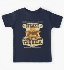 Strax's Memory Worm Tequila Kids Tee