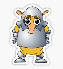 Armor-dillo Sticker