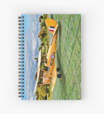 De Havilland DH82 Tiger Moth - Portrait Spiral Notebook