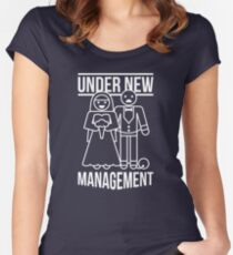 Under New Management Women's Fitted Scoop T-Shirt