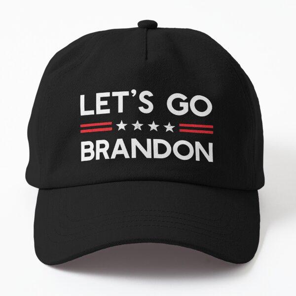 Let's Go Brandon Conservative US Flag Gift  Dad Hat